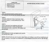 Bed Frame To Headboard Adapters pictures