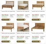 images of Bed Frames Set Up