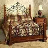 pictures of Bed Frame Cherry