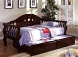Bed Frame Trundle photos