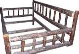 Bed Frames Rustic Wood photos