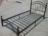 images of Bed Frame Iron Wood