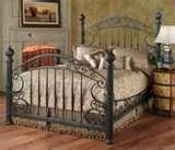 Bed Frame Iron Wood