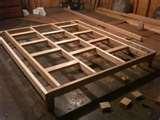 Platform Bed Frame Tx images