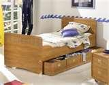 Twin Bed Frame Wood images