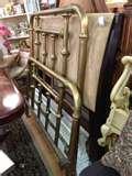 images of Antique Iron Bed Frame Ebay