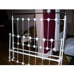 pictures of Antique Iron Bed Frame Ebay