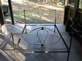 Antique Iron Bed Frame Ebay pictures