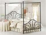 Canopy Bed Frame Full pictures