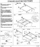 Metal Bed Frame Wheels pictures