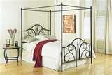 images of Canopy Bed Frame Full