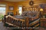 photos of Log Bed Frames Utah