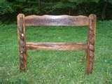 photos of Rustic Wooden Bed Frames
