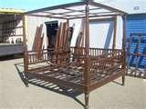 images of Queen Bed Frame Pine