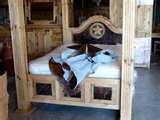 photos of Queen Bed Frame Pine