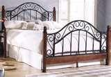 pictures of Wooden Bed Frames Headboard