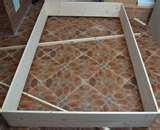 Bed Frame Wood Floor photos