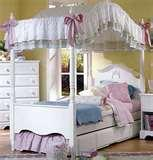 pictures of Canopy Bed Frames Headboard