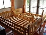 Bed Frame Wood Floor