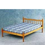 images of Pine Double Bed Frame
